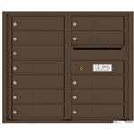 Florence robust versatile™ 4C mailbox with 7 door / 7 doors line was developed with a simple to use a modular system that provides a very flexible solution for your individual project needs - taking the guesswork out of meeting the necessary USPS requirements and/or ADA Fair Housing requirements, too. Standard pre-configured options are available for simple installations, or custom-build a solution from a base unit to make your centralized mail center stand out from the rest. Available in three mounting types, this indoor/outdoor solution can effectively replace an outdated mailbox installation or be designed for any new construction project.
