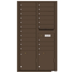 Florence robust versatile™ 4C mailbox with 16 door / 16 doors line was developed with a simple to use a modular system that provides a very flexible solution for your individual project needs - taking the guesswork out of meeting the necessary USPS requirements and/or ADA Fair Housing requirements, too. Standard pre-configured options are available for simple installations, or custom-build a solution from a base unit to make your centralized mail center stand out from the rest. Available in three mounting types, this indoor/outdoor solution can effectively replace an outdated mailbox installation or be designed for any new construction project.
