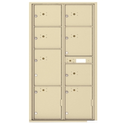 4C Horizontal mailbox 20 Compartment
