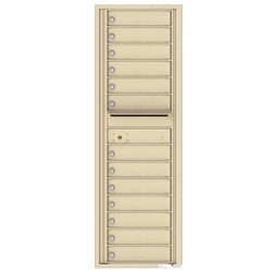 4C Horizontal mailbox 13 Compartment