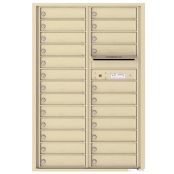 4C Horizontal mailbox 24 Compartment