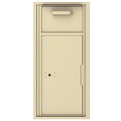 Collection / Drop Box Unit with Pull Down Hopper for Mail Collection - 4C Recessed Mount versatile™ - Model 4C10S-HOP