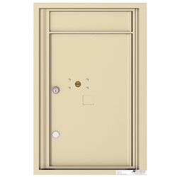 1 Parcel Doors / Parcel Lockers - 4C Recessed Mount versatile™ - Model 4C07S-1P