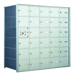 29 Tenant Doors with 1 Master Door - 1400 Series USPS 4B+ Approved Horizontal Replacement Mailbox - Model 140065A