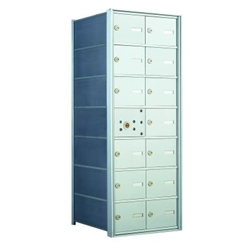13 Tenant Doors with 1 Master Door - 1400 Series USPS 4B+ Approved Horizontal Replacement Mailbox - Model 140072A