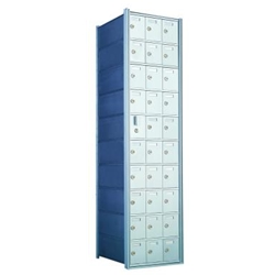 29 Tenant Doors with 1 Master Door - 1600 Series Front Loading, Recess-Mounted Private Delivery Mailboxes - Model 1600103A
