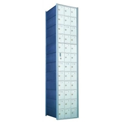 35 Tenant Doors with 1 Master Door - 1600 Series Front Loading, Recess-Mounted Private Delivery Mailboxes - Model 1600123A