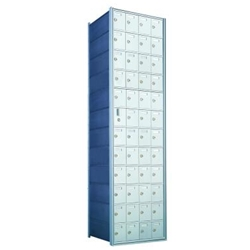 47 Tenant Doors with 1 Master Door - 1600 Series Front Loading, Recess-Mounted Private Delivery Mailboxes - Model 1600124A