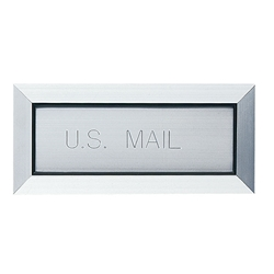 "Mail (Letter) Drop with 12"" Angled Liner - Standard - Model LD12AL12B"