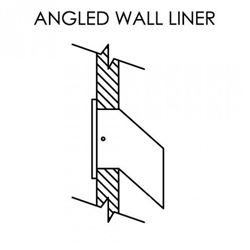 "12"" Angled Wall liner for LD12 (Liner only) - Model  LD12L12B"