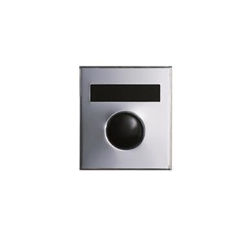 Mechanical Door Chime - Anodized Silver - with Name Plate - Model 687101-01