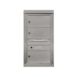 3 Double Height Tenant Doors - Front Loading - Model SD3 - ADA 54 Series - USPS Approved 4C Horizontal Mailbox