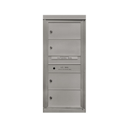 4 Double Height Tenant Doors - Front Loading - Model SD4 - Comfort Series - USPS Approved 4C Horizontal Mailbox