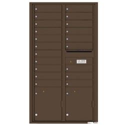 Florence robust versatile™ 4C mailbox line was developed with a simple to use a modular system that provides a very flexible solution for your individual project needs - taking the guesswork out of meeting the necessary USPS requirements and/or ADA Fair Housing requirements, too. Standard pre-configured options are available for simple installations, or custom-build a solution from a base unit to make your centralized mail center stand out from the rest. Available in three mounting types, this indoor/outdoor solution can effectively replace an outdated mailbox installation or be designed for any new construction project.