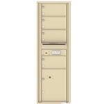 4C Horizontal mailbox 4 Compartment