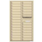 4C Horizontal mailbox 28 Compartment