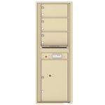 4C Horizontal mailbox 3 Compartment