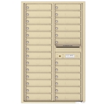 4C Horizontal mailbox 26 Compartment
