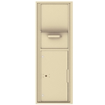 Collection / Drop Box Unit with Pull Down Hopper for Mail Collection - 4C Recessed Mount versatile™ - Model 4C14S-HOP
