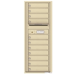 11 Tenant Doors and Outgoing Mail Compartment - 4C Recessed Mount versatile™ - Model 4C13S-11