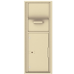 Collection / Drop Box Unit with Pull Down Hopper for Mail Collection - 4C Recessed Mount versatile™ - Model 4C13S-HOP