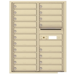 19 Tenant Doors with Outgoing Mail Compartment - 4C Recessed Mount versatile™ - Model 4C11D-19