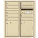 Florence 4C mailboxes are USPS Approved and meet or exceed STD-4C requirements for new construction and major renovations. They are also ideal for private delivery applications. 9 Tenant Doors with 2 Parcel Lockers and Outgoing Mail Compartment - 4C Recessed Mount versatile™ - Model 4CADD-09