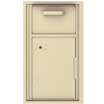 Collection / Drop Box Unit with Pull Down Hopper for Mail Collection - 4C Recessed Mount versatile™ - Model 4C08S-HOP