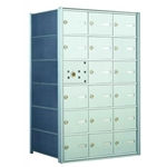 17 Tenant Doors with 1 Master Door - 1400 Series USPS 4B+ Approved Horizontal Replacement Mailbox - Model 140063A