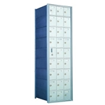 26 Tenant Doors with 1 Master Door - 1600 Series Front Loading, Recess-Mounted Private Delivery Mailboxes - Model 160093A