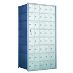 8 Doors High x 5 Doors Wide - Custom 1600 Series Front Loading, Recess-Mounted Private Delivery Mailboxes - Model 160085-SP
