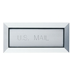 Mail (Letter) Drop with Fixed Flap and Mail Slot - Custom - Model LD12SPHS