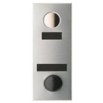 Mechanical Door Chime - Anodized Aluminum - with ID Plate and Name Plate - Model 684101-01