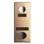 Mechanical Door Chime - Bronze - with ID Plate and Name Plate - Model 684104-01