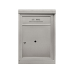 1 ADA Parcel Locker - Front Loading - Model P1ADA48 - ADA 48 Series - USPS Approved 4C Horizontal Mailbox