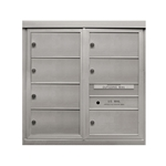 7 Double Height Tenant Doors - Front Loading - Model DD7 - ADA 54 Series - USPS Approved 4C Horizontal Mailbox