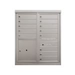 13 Tenant Doors and 1 Parcel Locker - Front Loading - Model D13P1 - Comfort Series - USPS Approved 4C Horizontal Mailbox