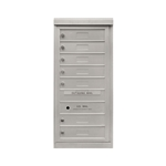7 Single Height Tenant Doors - One Column Front Loading - Model S7 - Flex Series - USPS Approved 4C Horizontal Mailbox