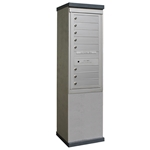8 Tenant Doors and 1 Parcel Locker - Model CE1S-S8 - CDS Collection - USPS Approved Outdoor Mailbox Kiosk
