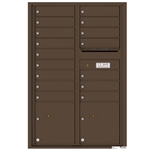 Florence robust versatile™ 4C mailbox with 13 door / 13 doors line was developed with a simple to use a modular system that provides a very flexible solution for your individual project needs - taking the guesswork out of meeting the necessary USPS requirements and/or ADA Fair Housing requirements, too. Standard pre-configured options are available for simple installations, or custom-build a solution from a base unit to make your centralized mail center stand out from the rest. Available in three mounting types, this indoor/outdoor solution can effectively replace an outdated mailbox installation or be designed for any new construction project.