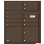 Florence robust versatile™ 4C mailbox with 10 door / 10 doors line was developed with a simple to use a modular system that provides a very flexible solution for your individual project needs - taking the guesswork out of meeting the necessary USPS requirements and/or ADA Fair Housing requirements, too. Standard pre-configured options are available for simple installations, or custom-build a solution from a base unit to make your centralized mail center stand out from the rest. Available in three mounting types, this indoor/outdoor solution can effectively replace an outdated mailbox installation or be designed for any new construction project.