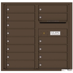 Florence robust versatile™ 4C mailbox with 8 door / 8 doors line was developed with a simple to use a modular system that provides a very flexible solution for your individual project needs - taking the guesswork out of meeting the necessary USPS requirements and/or ADA Fair Housing requirements, too. Standard pre-configured options are available for simple installations, or custom-build a solution from a base unit to make your centralized mail center stand out from the rest. Available in three mounting types, this indoor/outdoor solution can effectively replace an outdated mailbox installation or be designed for any new construction project.