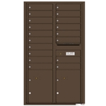Florence robust versatile™ 4C mailbox with 15 door / 15 doors line was developed with a simple to use a modular system that provides a very flexible solution for your individual project needs - taking the guesswork out of meeting the necessary USPS requirements and/or ADA Fair Housing requirements, too. Standard pre-configured options are available for simple installations, or custom-build a solution from a base unit to make your centralized mail center stand out from the rest. Available in three mounting types, this indoor/outdoor solution can effectively replace an outdated mailbox installation or be designed for any new construction project.