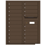 Florence robust versatile™ 4C mailbox with 11 door / 11 doors line was developed with a simple to use a modular system that provides a very flexible solution for your individual project needs - taking the guesswork out of meeting the necessary USPS requirements and/or ADA Fair Housing requirements, too. Standard pre-configured options are available for simple installations, or custom-build a solution from a base unit to make your centralized mail center stand out from the rest. Available in three mounting types, this indoor/outdoor solution can effectively replace an outdated mailbox installation or be designed for any new construction project.