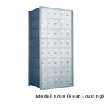 A favorite of University housing managers, these private use replacement horizontal mailboxes are an indoor solution that helps keep your mail area organized. Available in front-loading (1600 series) or rear-loading (1700 series) units, each module provides a lot of compartments in a small space. Since these are private delivery mailboxes, they are not constrained by postal installation regulations and therefore have no minimum or maximum mounting height requirements.