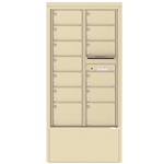13 Tenant Doors and Outgoing Mail Compartment - 4C Depot versatile™ - Model 4C15D-13-D
