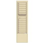 13 Tenant Doors and Outgoing Mail Compartment - 4C Depot versatile™ - Model 4C15S-13-D