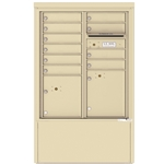 10 Tenant Doors with 2 Parcel Lockers and Outgoing Mail Compartment - 4C Depot versatile™ - Model 4CADD-10-D