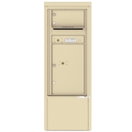 1 Tenant Door with Parcel Locker and Outgoing Mail Compartment - 4C Depot versatile™ - Model 4CADS-01-D