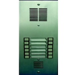 2157-6 Bi-Directional 6 Button Entry Panel
